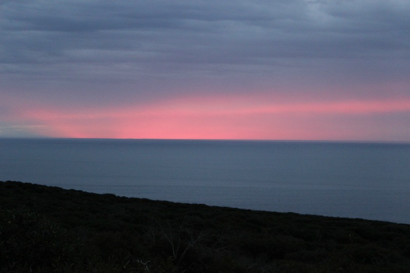 Cape Borda Sunset on Kangaroo Island