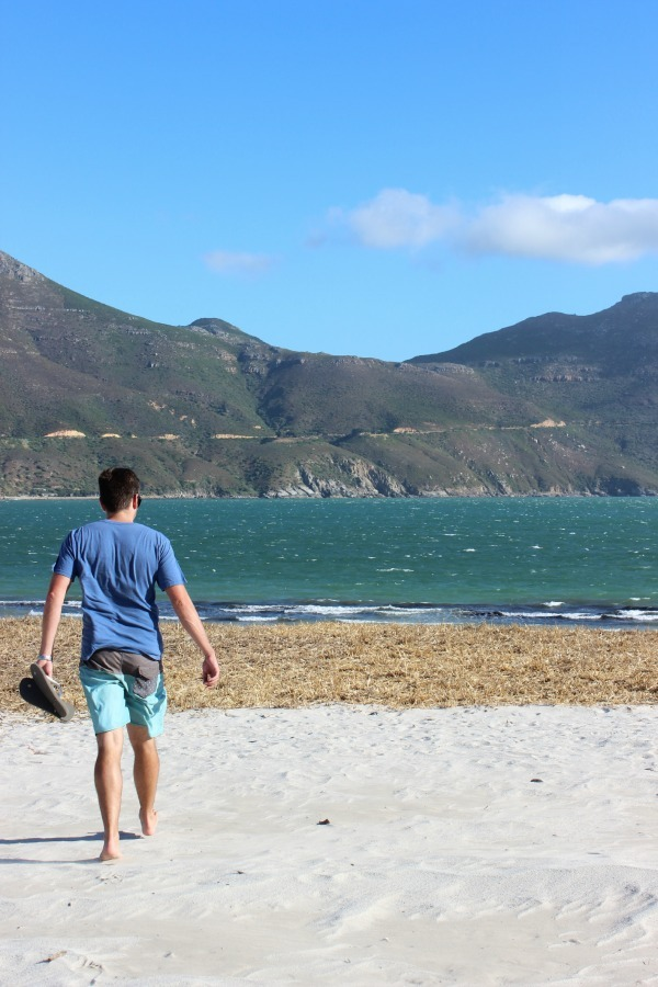 Hout Bay sand dunes in Cape Town, South Africa