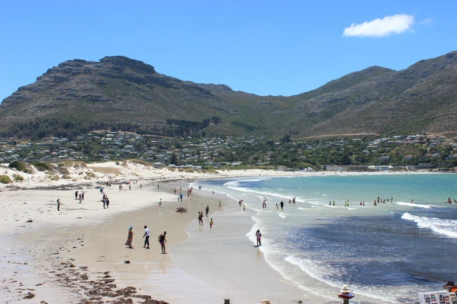 Hout Bay in Cape Town, South Africa