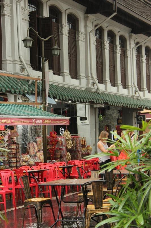 Chinatown in Singapore