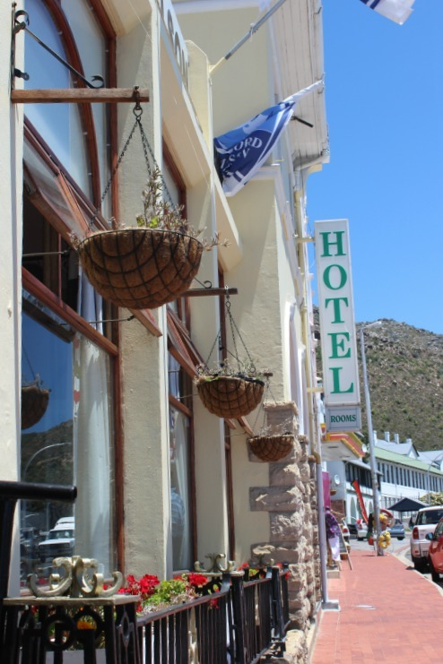 Simon's Town main street in Cape Town South Africa