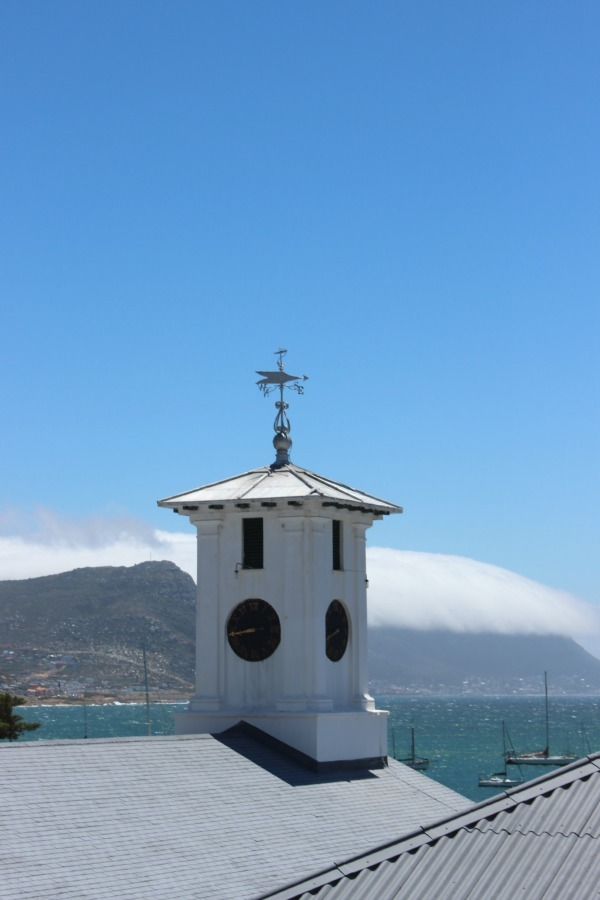 Simon's Town in Cape Town, South Africa