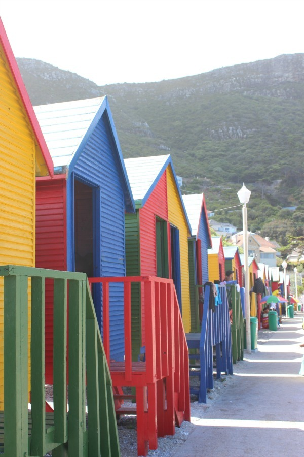 St James Bathing huts