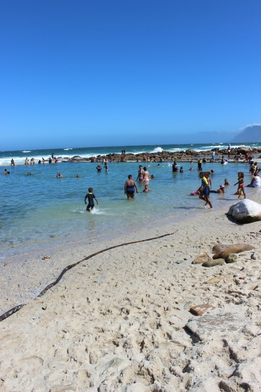 St James pool in St James, South Africa - one of the best coastal villages of Cape Town