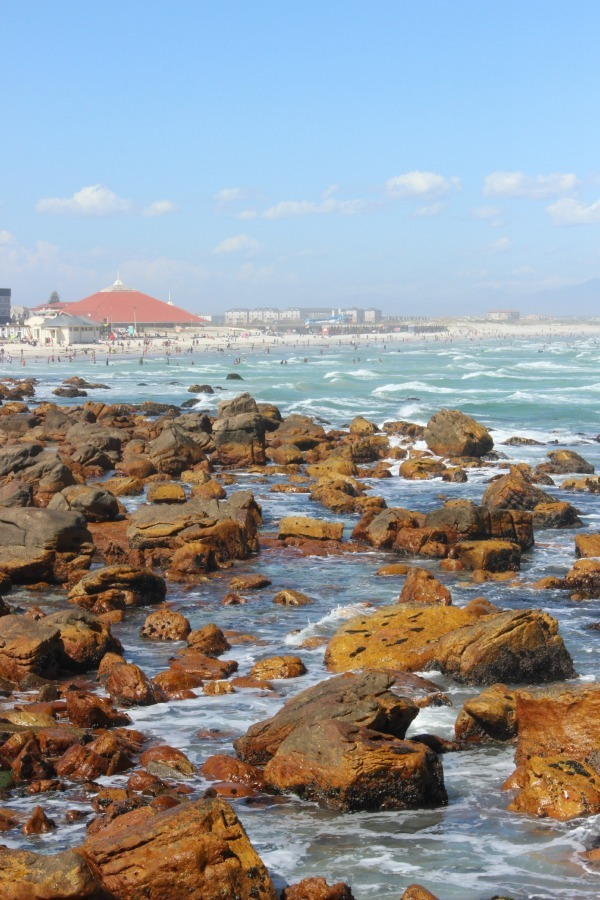 View over to Muizenberg in South Africa