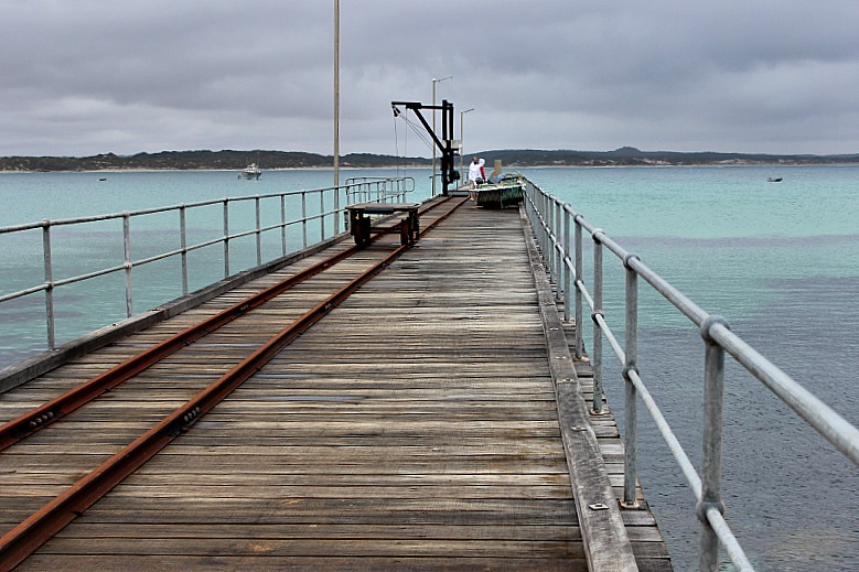 Vivonne Bay Wharf on Kangaroo Island