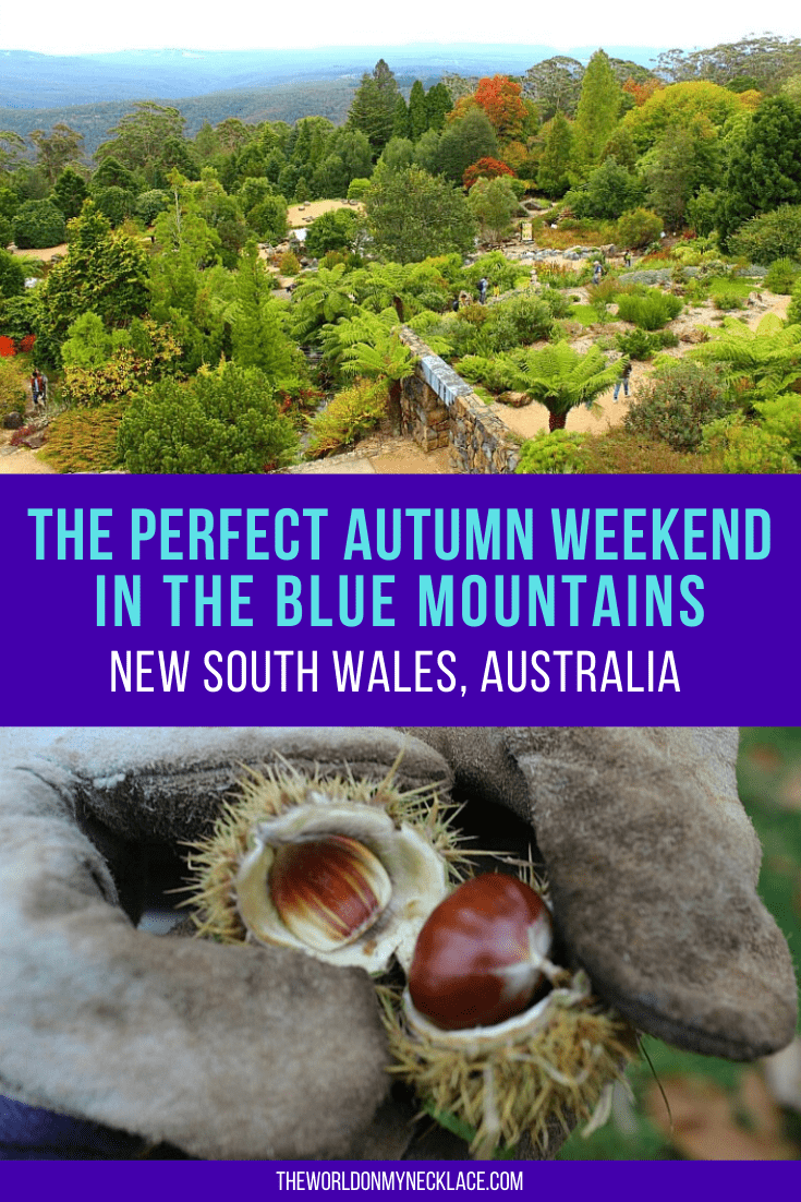 Perfect Autumn Weekend in the Blue Mountains