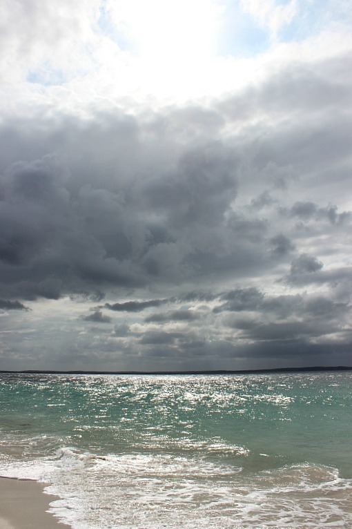 Chinamans Beach in Jervis Bay