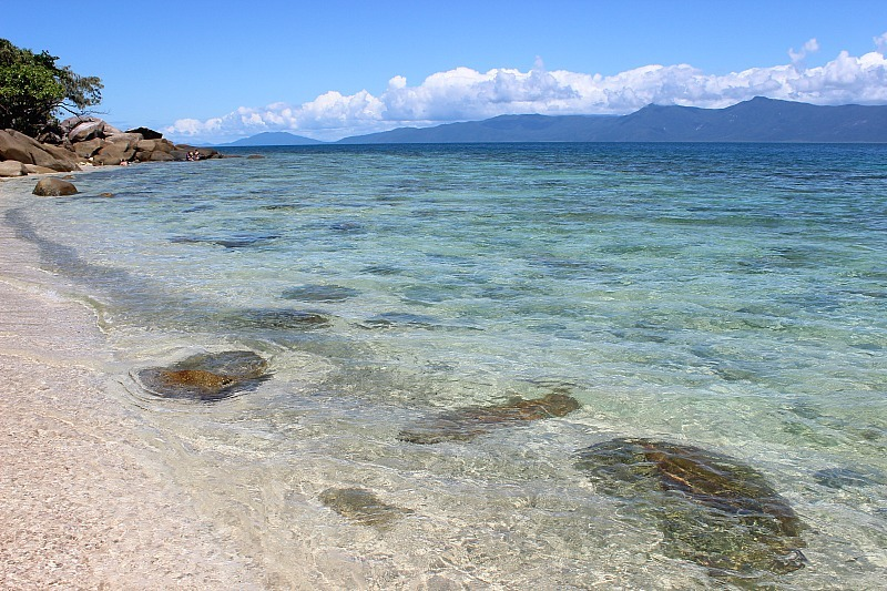 Crystal clear waters of Fitzroy Island