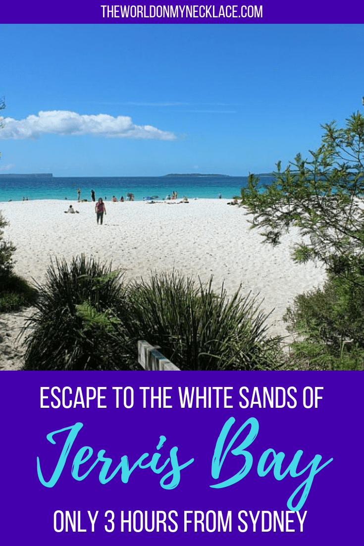 Escape to the White Sands of Jervis Bay on the South Coast of NSW