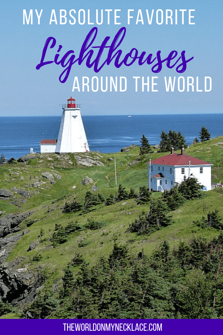 The Best Lighthouses Around the World
