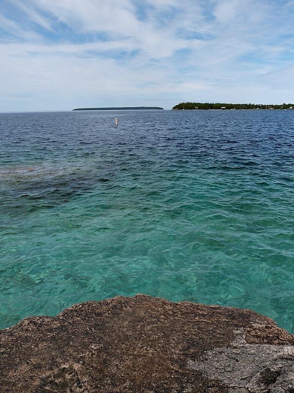 Georgian Bay in Lake Huron, Canada