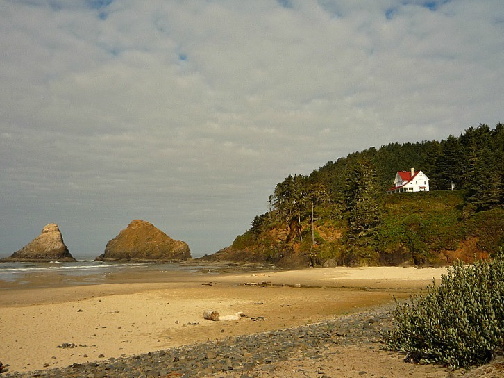 Heceta Head Lighthouse in Oregon - one of my favorite lighthouses