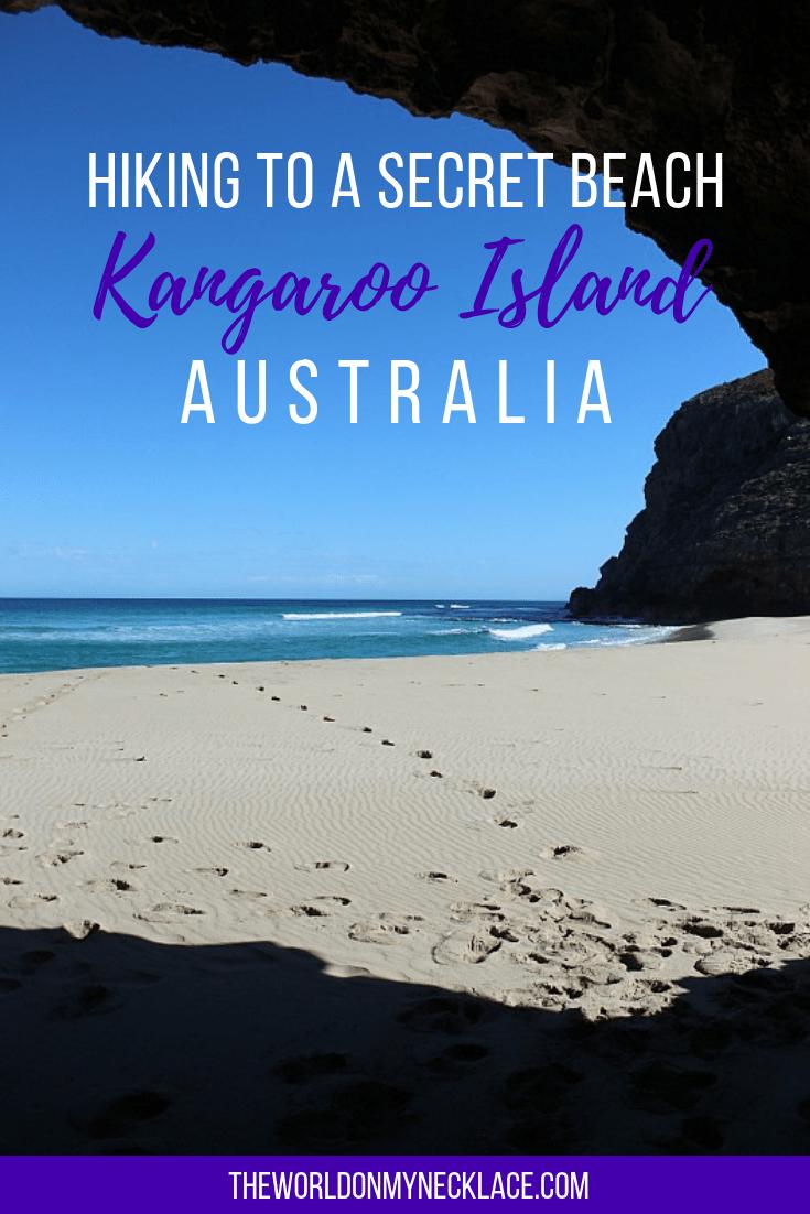 Hiking to a Secret Beach on Kangaroo Island in Australia