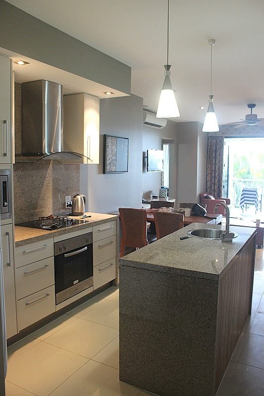 Kitchen in Fitzroy island Suite