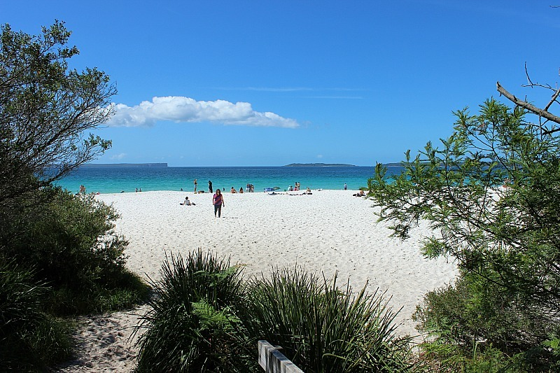 Murrays Beach in Booderee National Park