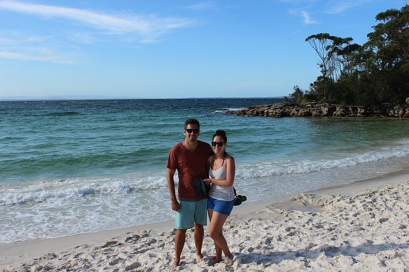 Murrays Beach in Jervis Bay