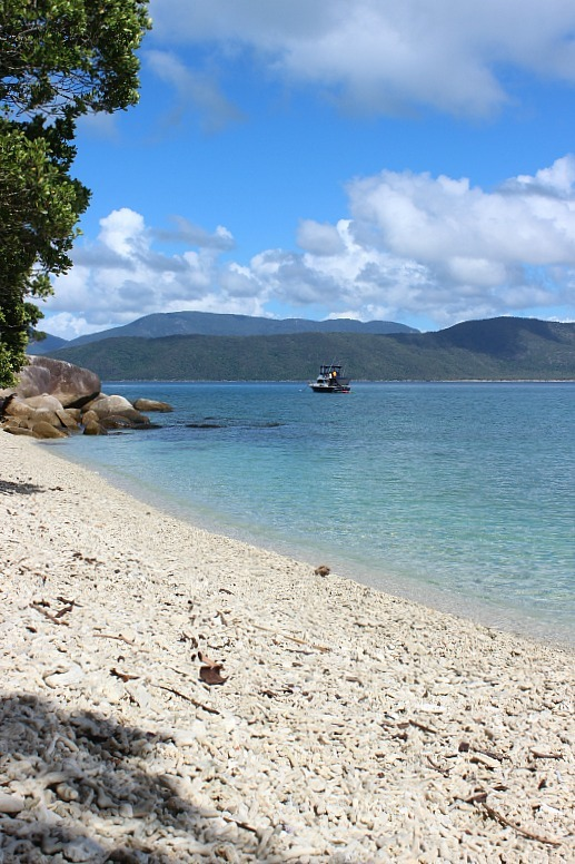 Nudey beach on Fitzroy Island