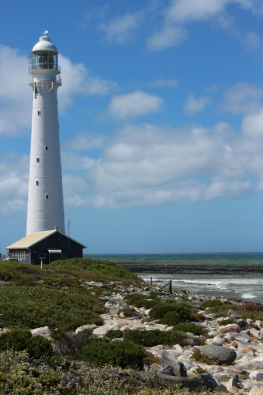 Slangkop Lighthouse in Kommetjie, South Africa - one of my favorite lighthouses