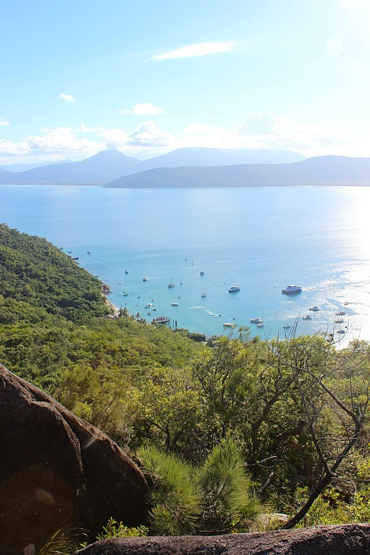 Summit view on Fitzroy Island
