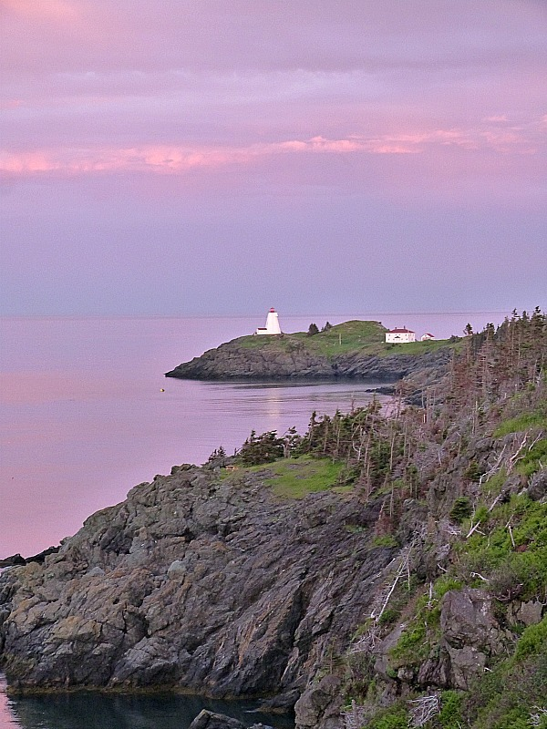 Sunset over Swallowtail Lighthouse on Grand Manan Island - one of my favorite lighthouses