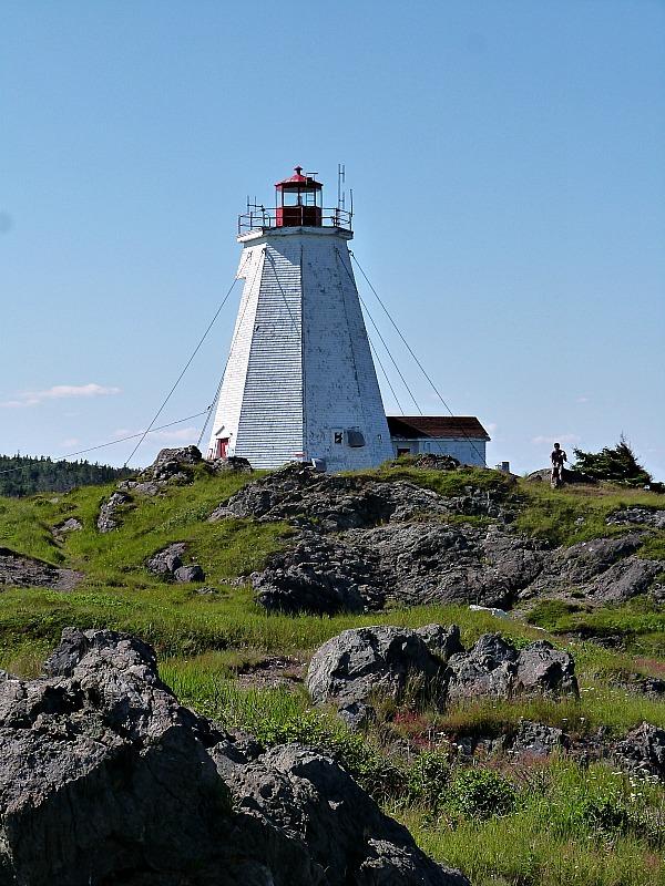 Swallowtail Lighthouse on Grand Manan Island, Canada