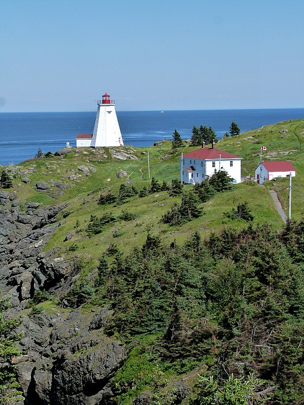 Swallowtail Lighthouse on Grand Manan Island in Canada - one of my favorite lighthouses