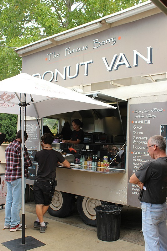 Eating at the Famous Berry Donut Van is one of the best things to do in Jervis Bay and the surrounding area