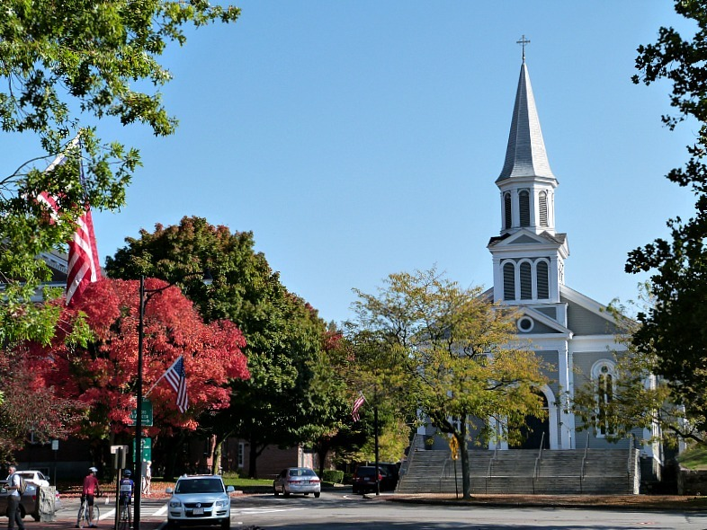 Beautiful Concord - one of the best small towns in Massachusetts