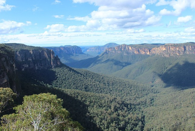 Blackheath Blue Mountains view