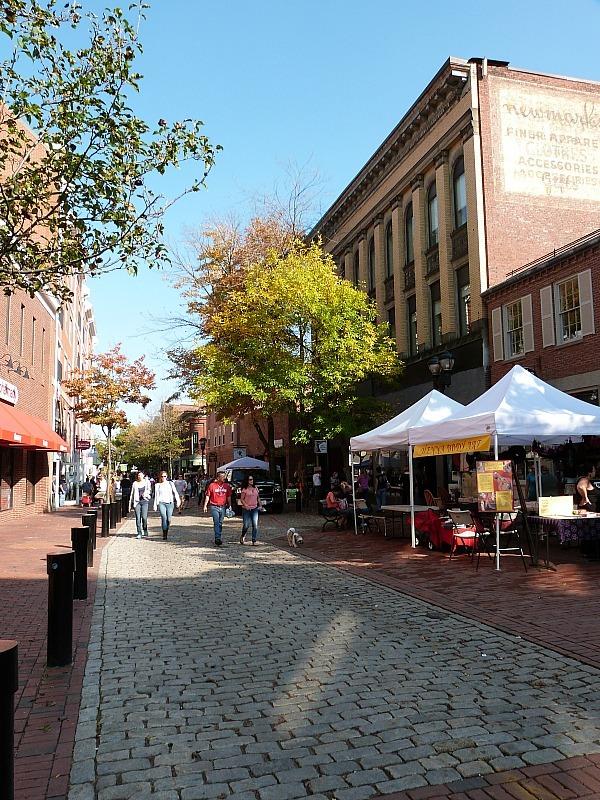 Downtown Salem in Massachusetts
