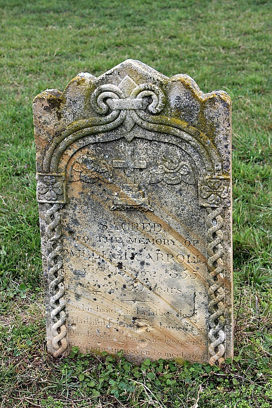 Gravestone at Chinamans Bend Cemetery