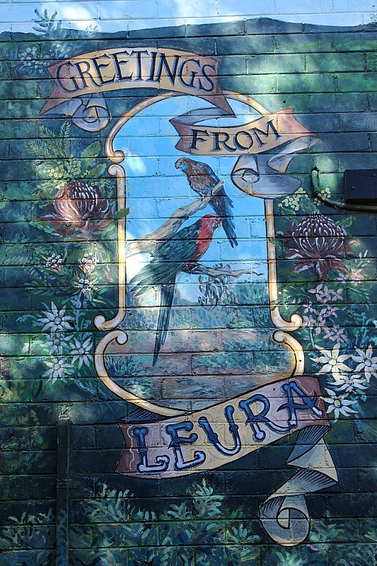 Greetings from Leura in the Blue Mountains of Australia