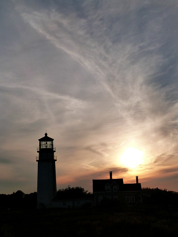 Highland Light Cape Cod near Provincetown - one of the best small towns in Massachusetts
