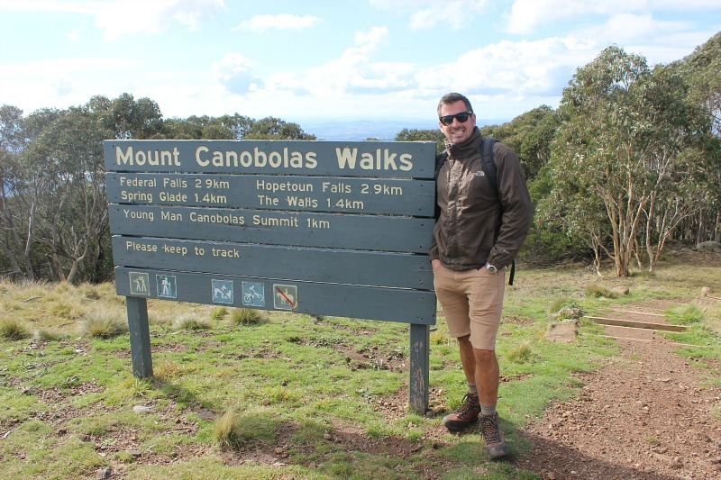 Hiking Mount Canobolas in Orange NSW