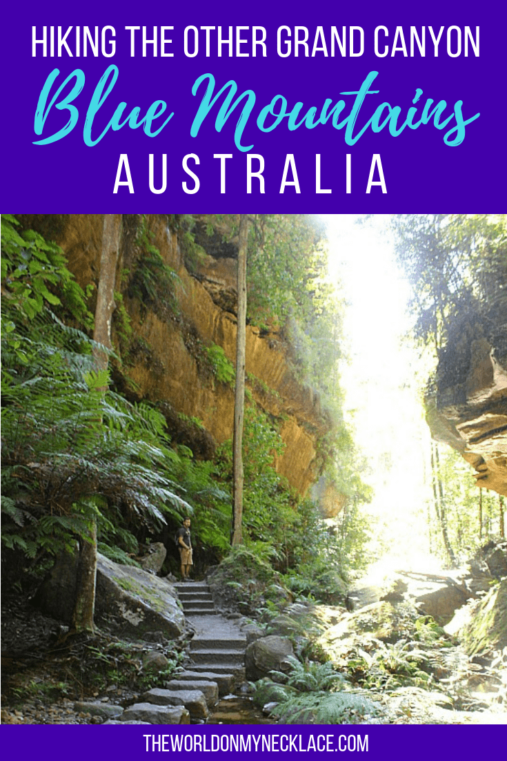 Hiking the Other Grand Canyon in the Blue Mountains of Australia