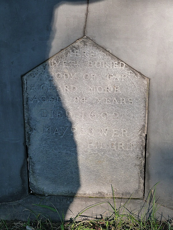 Mayflower pilgrim grave in Salem