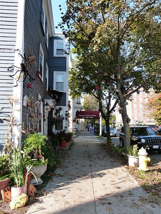 October in Salem Massachusetts