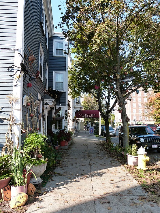 October in Salem Massachusetts - one of the best small towns in Massachusetts