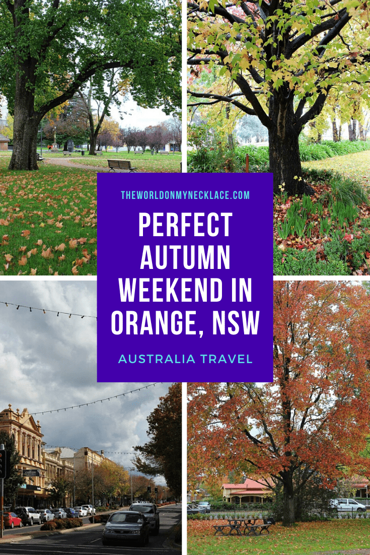 Perfect Autumn Weekend in Orange NSW