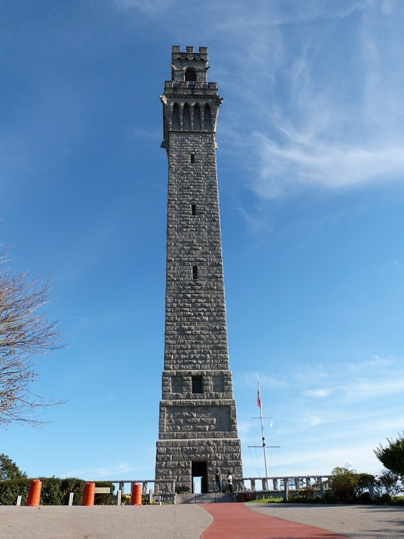 Pilgrim Monument in Provincetown - one of the best small towns in Massachusetts