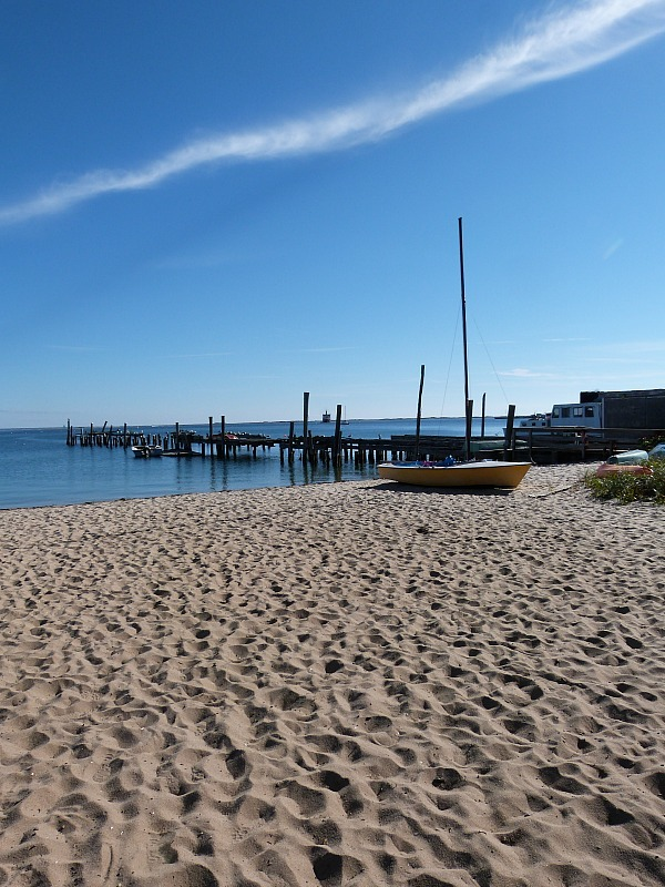 Beach in Provincetown - one of the best small towns in Massachusetts