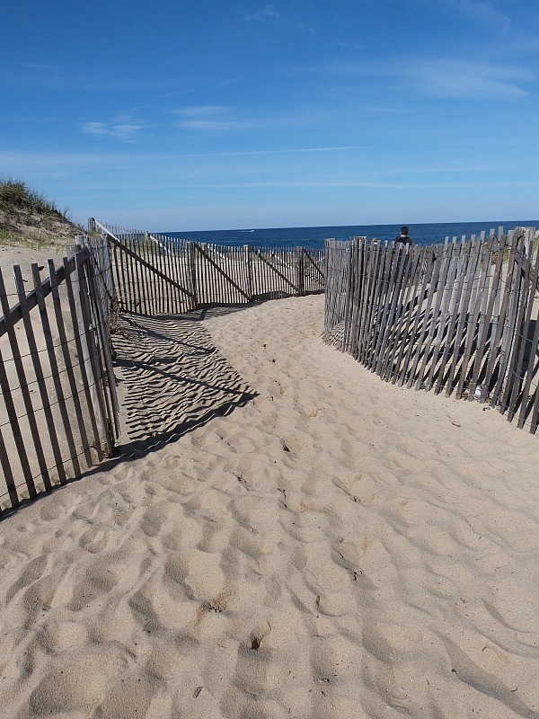 Race Point beach in Cape Cod near Provincetown - one of the best small towns in Massachusetts