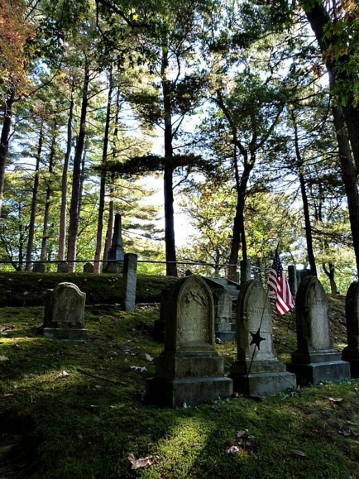 Sleepy Hollow Cemetery in Concord, Massachusetts
