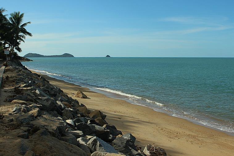 Trinity beach north of Cairns, Australia