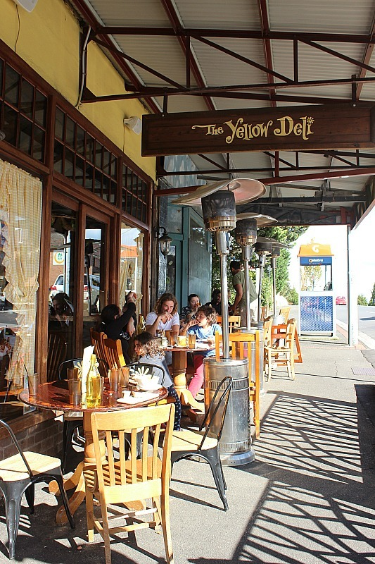 The Yellow Deli in Katoomba - a must add to any Blue Mountains Itinerary