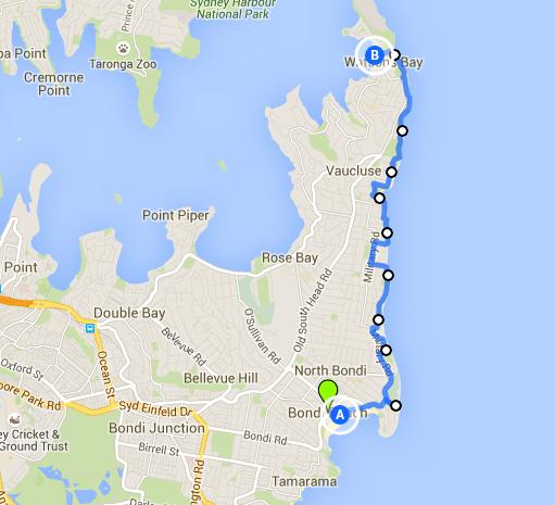 Bondi Beach to Watson's Bay