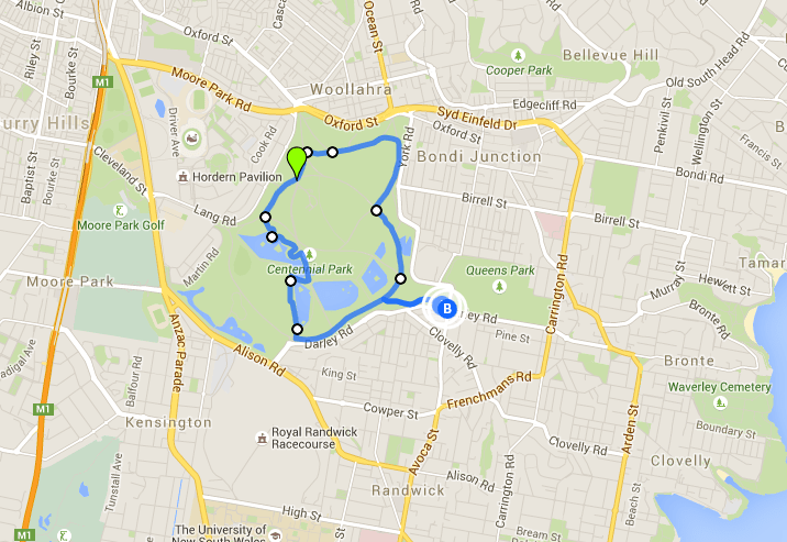 Centennial Park Loop - one of the best Sydney walks
