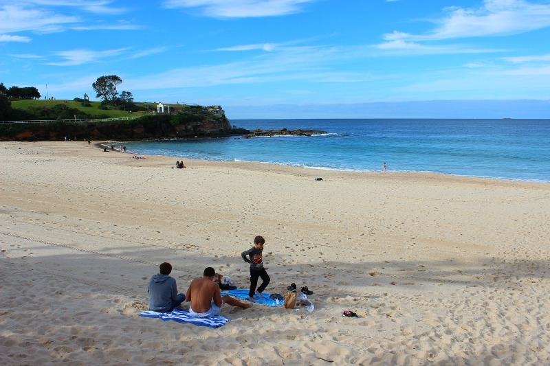 Coogee Beach on the Bondi to Coogee Walk - one of the best Sydney walks