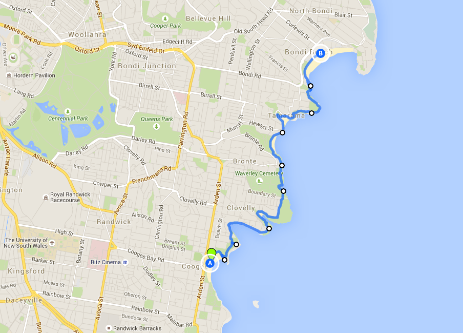 Coogee to Bondi Walk - one of the best Sydney walks